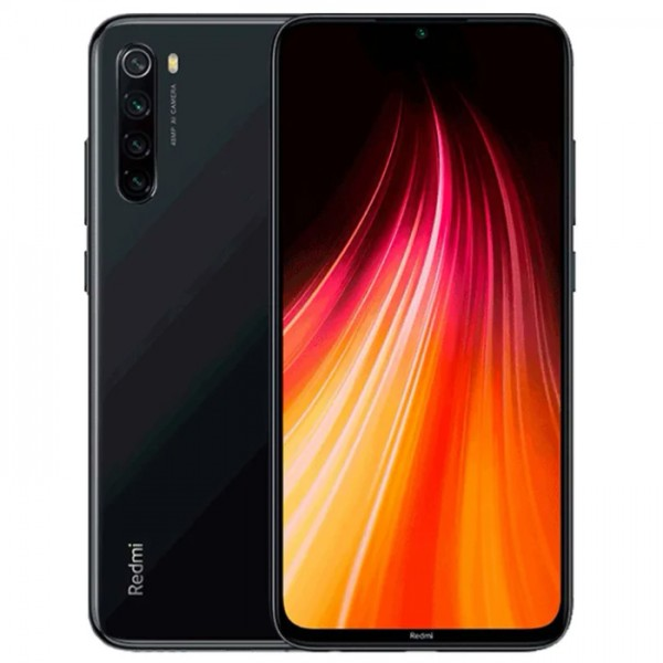 Смартфон Xiaomi Redmi Note 8 4/64GB Black (Черный)