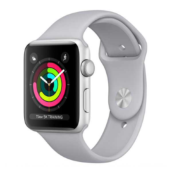 Часы Apple Watch Series 3 42mm (Silver Aluminum Case with Fog Sport Band)