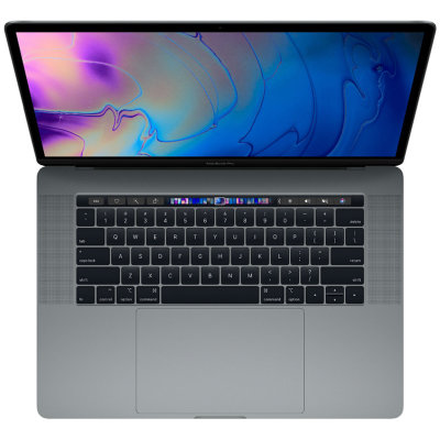 "Ноутбук Apple MacBook Pro 15"" Touch Bar 2018 MR932/Z0V00005Y (Intel Core i7 2200 Mhz/15.4""/2880x1800/16Gb/512Gb SSD/AMD Radeon Pro 555X 4Gb/Space Gray)"