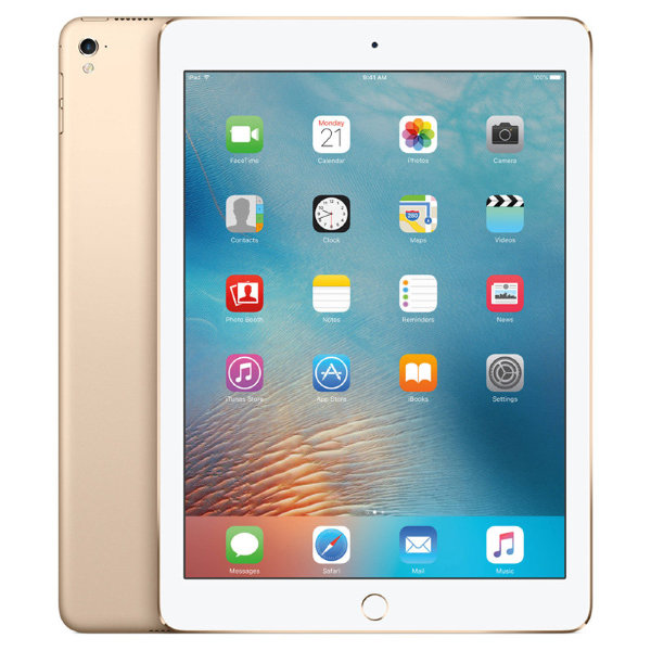Планшет Apple iPad 2017 128Gb Wi-Fi+Cellular Gold