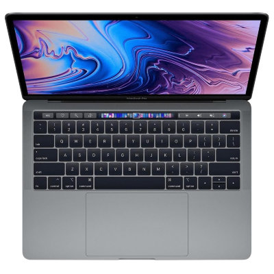 "Ноутбук Apple MacBook Pro 13"" with Touch Bar 2018 Z0V70002G (Intel Core i7 2700 Mhz/13.3""/2560x1600/16Gb/512Gb SSD/Intel Iris Plus Graphics 655/Space Gray)"
