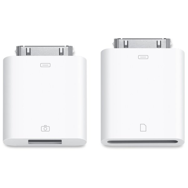 Комплект переходников для Apple iPad& iPhone 4S/ 4 Camera Connection Kit (MC531ZM/A)