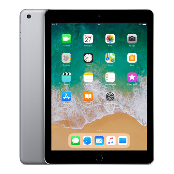 Планшет Apple iPad (2018) 128Gb Wi-Fi+LTE Space Gray