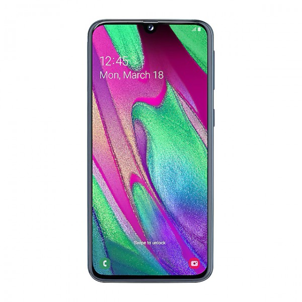 Смартфон Samsung Galaxy A40(2019) 64GB Black (Черный)