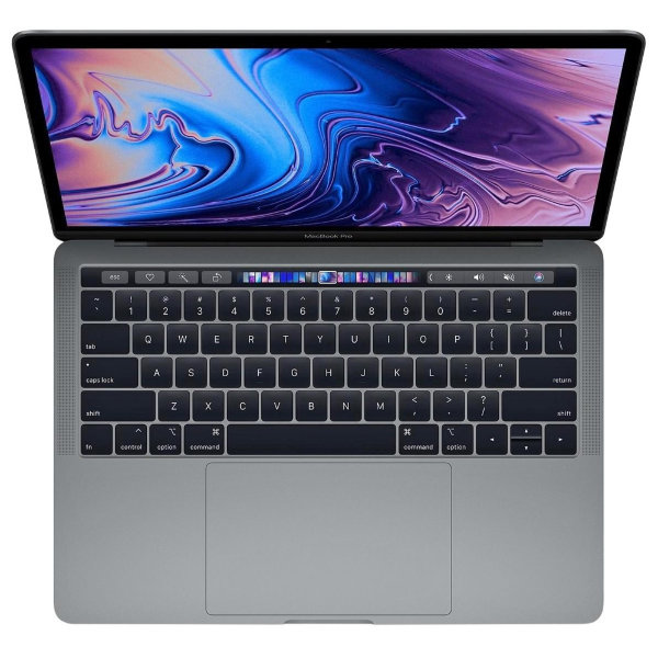 "Ноутбук Apple MacBook Pro 13"" with Touch Bar 2018 MR9Q2 (Intel Core i5 2300 Mhz/13.3""/2560x1600/8Gb/256Gb SSD/Intel Iris Plus Graphics 655/Space Gray)"