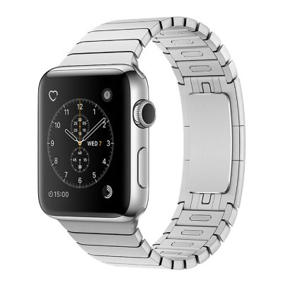 Умные часы Apple Watch Series 2 38mm Stainless Steel Case with Silver Link Bracelet (MNP52)