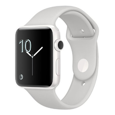 Умные часы Apple Watch Series 2 Edition 38mm White Ceramic Case with Cloud Sport Band (MNPF2)