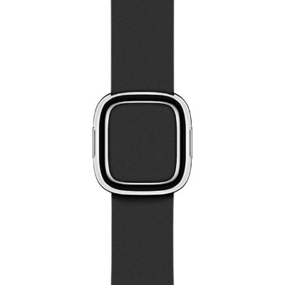 Ремешок Black Modern Buckle Medium для Apple Watch 38mm (MJY82)