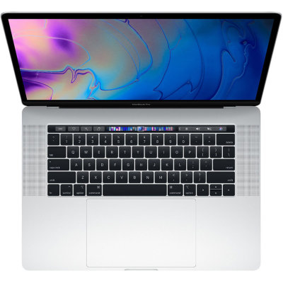 "Ноутбук Apple MacBook Pro 15"" with Touch Bar 2018 MR962LL/A (Intel Core i7 2200 Mhz/15.4""/2880x1800/16Gb/256Gb SSD/AMD Radeon Pro 555X 4Gb/Silver)"